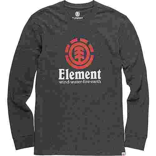 Element BLAZIN LS Longshirt Herren grau/meliert