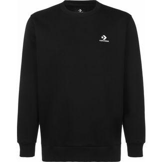 CONVERSE Embroidered Star Chevron Crew Sweatshirt Herren schwarz