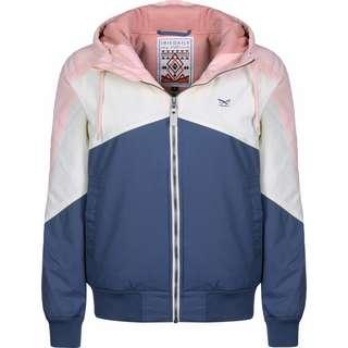 iriedaily Tri Colore W Softshelljacke Damen blau/pink