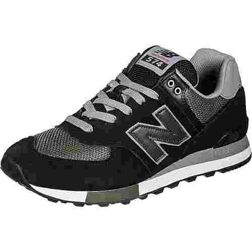 NEW BALANCE ML574 Sneaker Herren schwarz/oliv