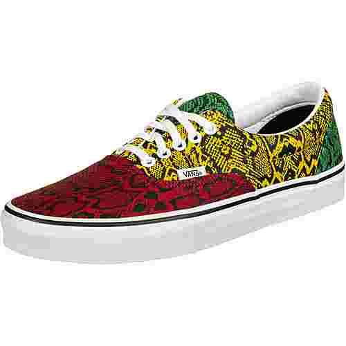 Vans Era Sneaker rot/gelb/grün