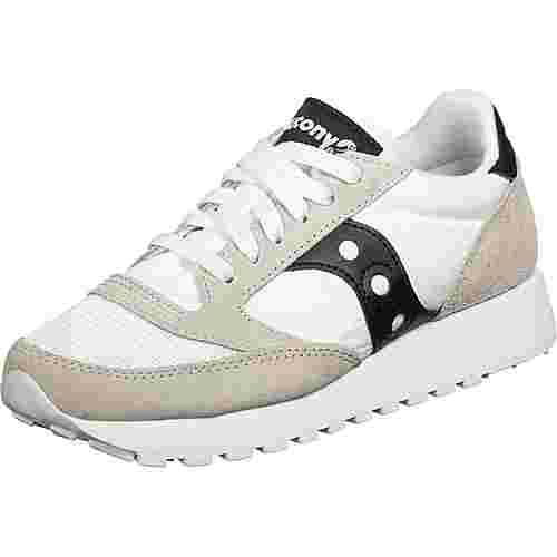 Saucony Jazz Vintage W Sneaker Damen weiß/schwarz/grau