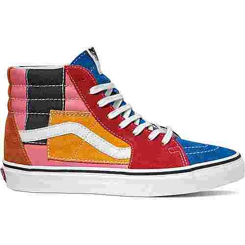 Vans SK8-Hi Sneaker rot/blau/orange