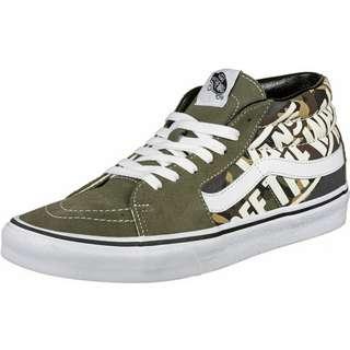 Vans Sk8-Mid Sneaker grün/beige