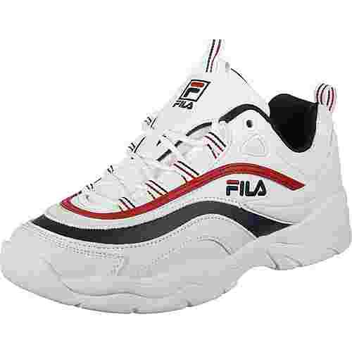 FILA Ray W Sneaker weiß/blau/rot