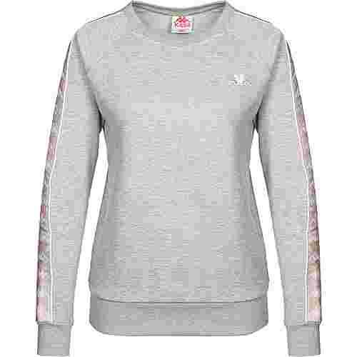 KAPPA Felicienne W Sweatshirt Damen grau/meliert