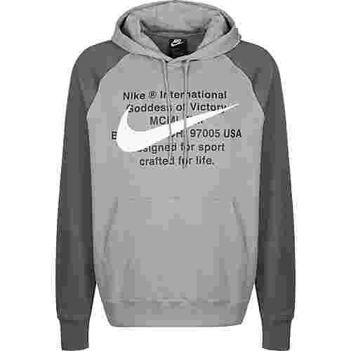 Nike Sportswear Swoosh Hoodie Herren grau