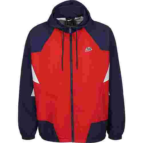 Nike Sportswear Heritage Windrunner Trainingsjacke Herren rot/blau
