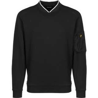 Lyle & Scott Nylon Panel Sweatshirt Herren schwarz