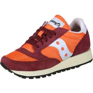 Saucony Jazz Original Vintage W Sneaker Damen rot/orange