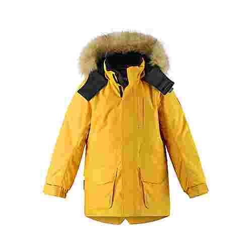 reima Naapuri Winterjacke Kinder Warm yellow