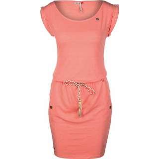 Ragwear Tag W Kurzarmkleid Damen orange/meliert