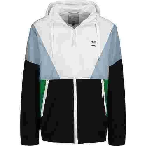 iriedaily Get Down Trainingsjacke Herren schwarz/weiß/grün
