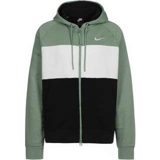 Nike Air Sweatjacke Herren grün/schwarz/weiß