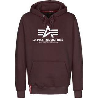 Alpha Industries Basic Hoodie Herren weinrot