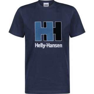 HELLY HANSEN Logo T-Shirt Herren blau