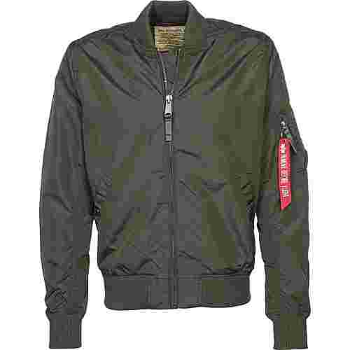 Alpha Industries MA-1 TT Windbreaker Herren grau