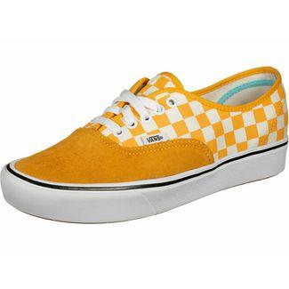 Vans ComfyCush Authentic Sneaker orange/weiß/kariert