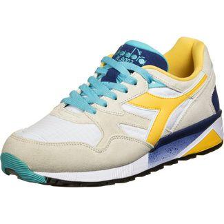 Diadora N9002 Sneaker Herren weiß/gelb/blau