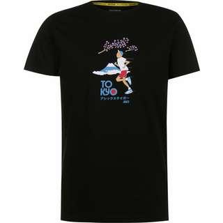 ASICS Graphic T-Shirt Herren schwarz