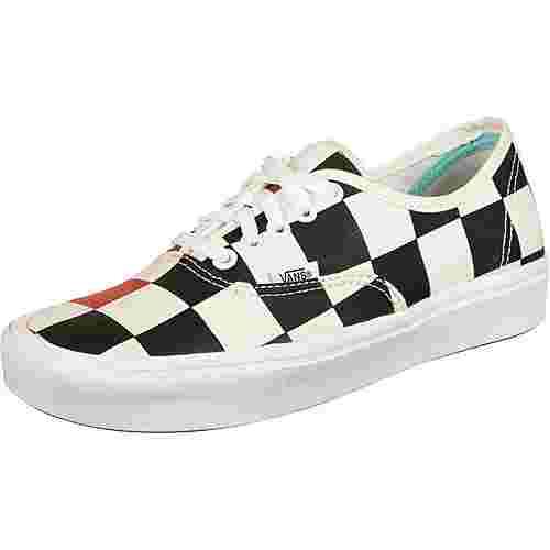 Vans ComfyCush Authentic Sneaker schwarz/rot/kariert