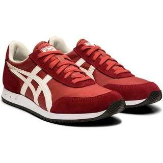 ASICS New York Sneaker Herren BURNT RED/CREAM