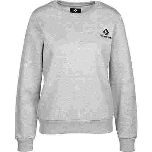 CONVERSE Star Chevron Sweatshirt Herren grau