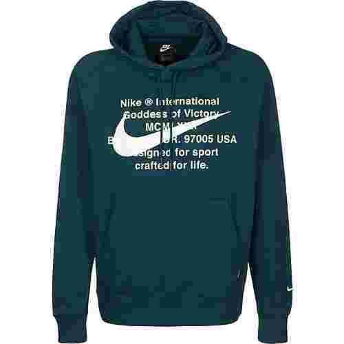 Nike Sportswear Swoosh Hoodie Herren blau