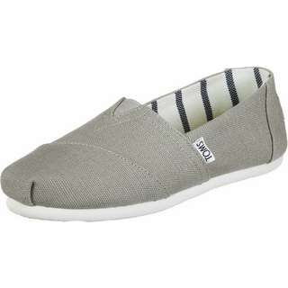 Toms Alpargata Canvas W Slipper Damen grau