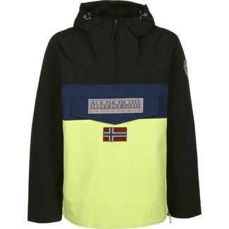Napapijri Rainforest Block Windbreaker Herren gelb/schwarz