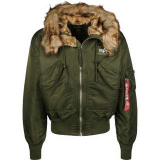 Alpha Industries 45P Hooded Winterjacke Herren oliv