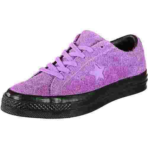 CONVERSE One Star Black Sole Sneaker lila