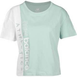 NEW BALANCE WT01506 T-Shirt Damen türkis