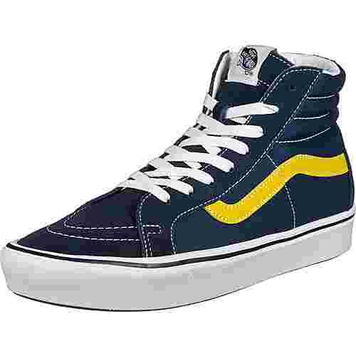 Vans Comfy Cush SK8-Hi Reissue Sneaker blau/gelb