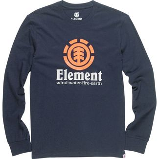 Element VERTICAL LS Longshirt Herren blau