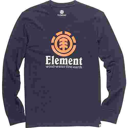 Element VERTICAL LS Longshirt Herren blau