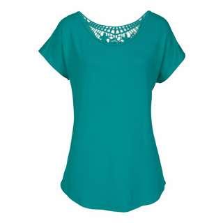 Lascana T-Shirt Damen türkis
