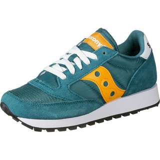 Saucony Jazz Original Vintage W Sneaker Damen blau/gelb