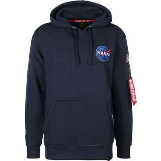Alpha Industries Space Shuttle Hoodie Herren blau