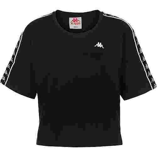 KAPPA Glanda T-Shirt Damen schwarz