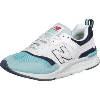 NEW BALANCE 997 W Sneaker Damen weiß/türkis