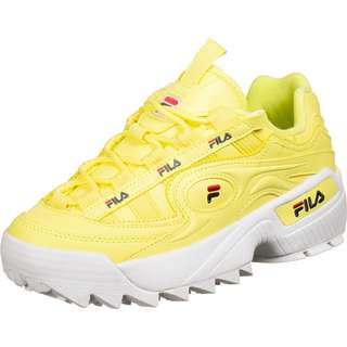 FILA D-Formation Sneaker Damen gelb