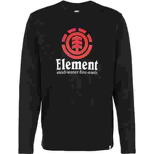 Element VERTICAL LS Longshirt Herren schwarz
