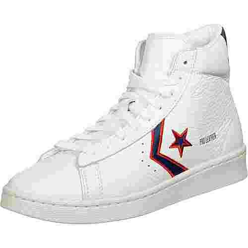 CONVERSE Pro Leather Hi Basketballschuhe Herren weiß/blau