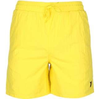 Lyle & Scott Plain Boardshorts Herren gelb