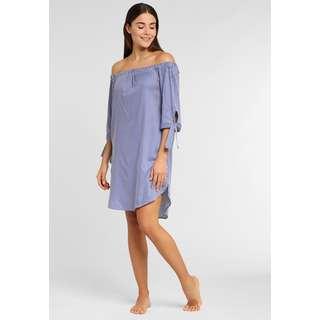 Lascana Minikleid Damen blau-weiß