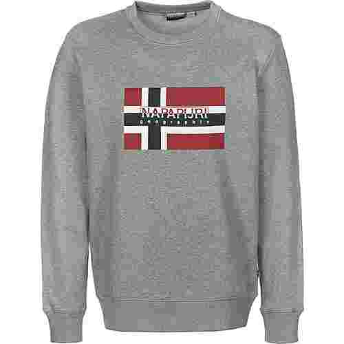 Napapijri Bovico C Sweatshirt Herren grau/meliert