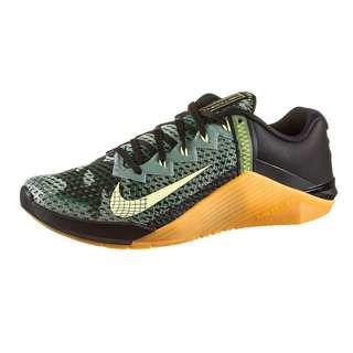 Nike Metcon 6 Fitnessschuhe Herren black-limelight-limelight-gum med brown