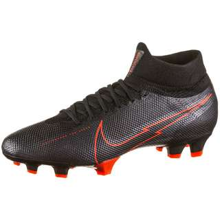 Nike Mercurial Superfly 7 Pro FG Fußballschuhe Herren black-black-dk smoke grey