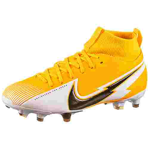 Nike Jr. Mercurial Superfly 7 Academy MG Fußballschuhe Kinder laser orange-black-white-laser orange